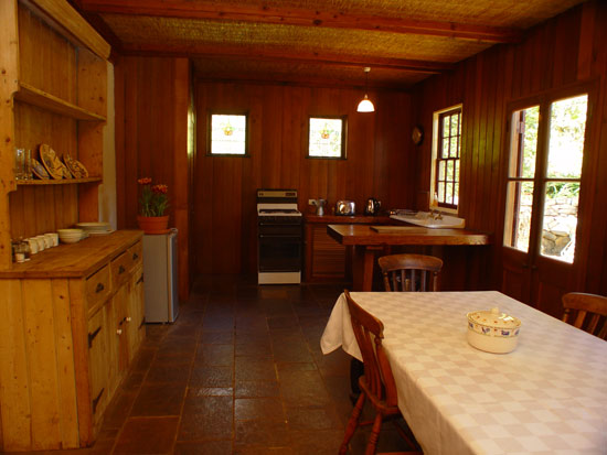 Hermitage Cottage Fully Equipped Kitchen